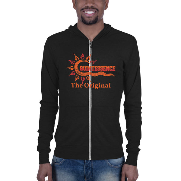 Hampton University QT The Original Unisex zip hoodie - We Wear Our HBCUs