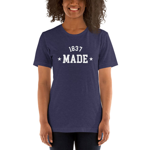 Cheyney University 1837 Made Short-Sleeve Women's T-Shirt - We Wear Our HBCUs