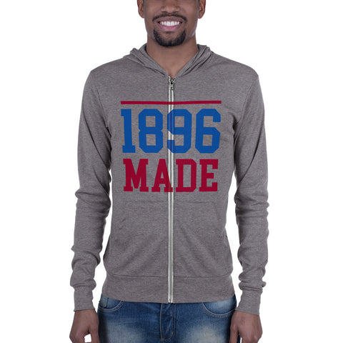 South Carolina State University 1896 Made Unisex zip hoodie - We Wear Our HBCUs