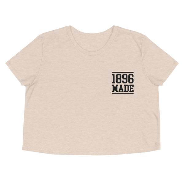 1896 Made South Carolina State University  Crop Tee - We Wear Our HBCUs
