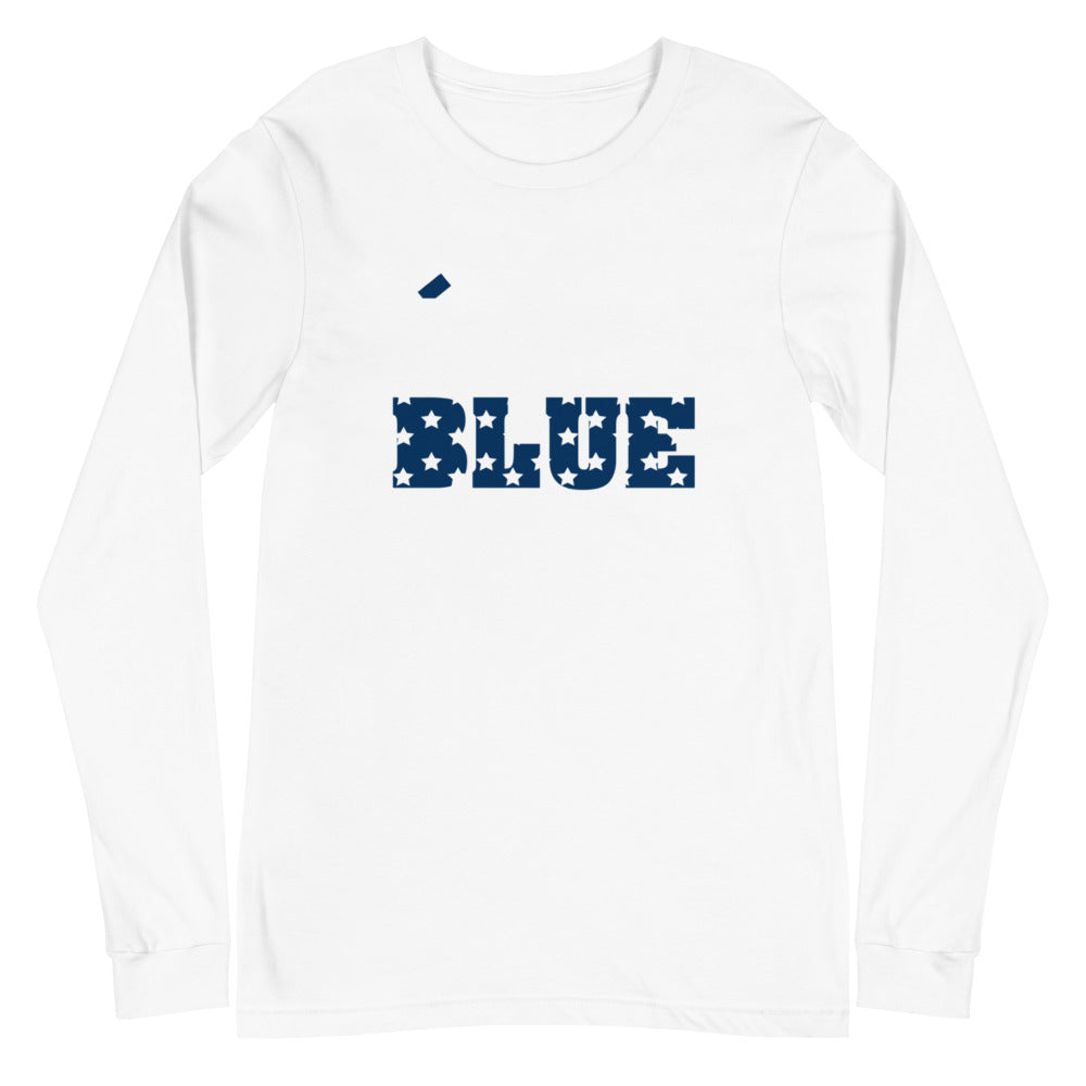 Vote Blue Unisex Long Sleeve Tee - We Wear Our HBCUs