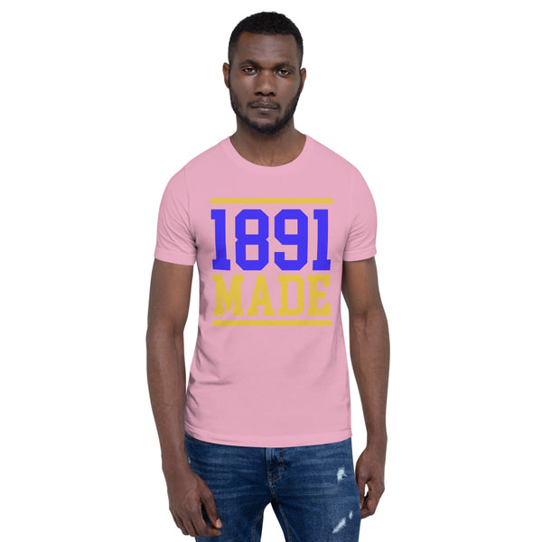 North Carolina A&T - 1891 Made Short-Sleeve Unisex T-Shirt - We Wear Our HBCUs