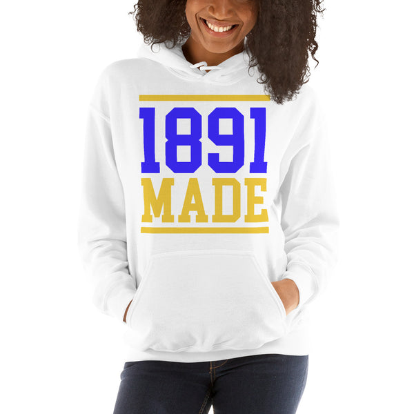 North Carolina A&T - 1891 Made Unisex Hoodie - We Wear Our HBCUs