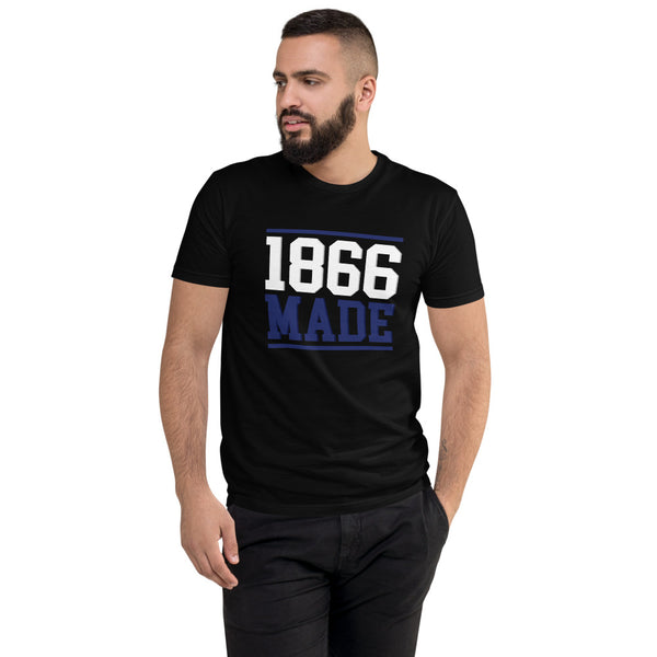 Lincoln University (MO) 1866 Made Men's Fitted T-Shirt up to 3XL - We Wear Our HBCUs