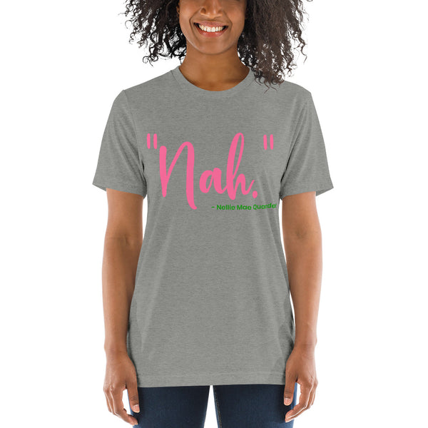 "Alpha Kappa Alpha ""Nah"" Nellie Mae Quander Super Women's Soft T-Shirt up to 4X - We Wear Our HBCUs"