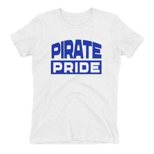 Pirate Page Hampton University Women's Boyfriend T-shirt With Feminine Silhouette - We Wear Our HBCUs