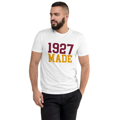 1927 Made Texas Southern Men's Fitted T-Shirt up to 3XL - We Wear Our HBCUs