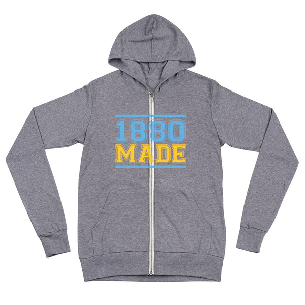 1880 Made Southern University A&M Unisex zip hoodie - We Wear Our HBCUs