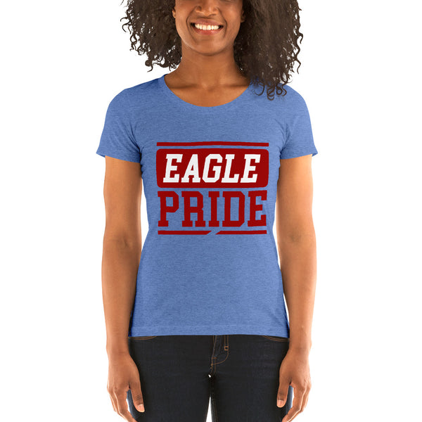 North Carolina Central Eagle Pride Ladies' short sleeve t-shirt - We Wear Our HBCUs