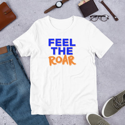 Lincoln University Feel The Roar Short-Sleeve Unisex T-Shirt - We Wear Our HBCUs