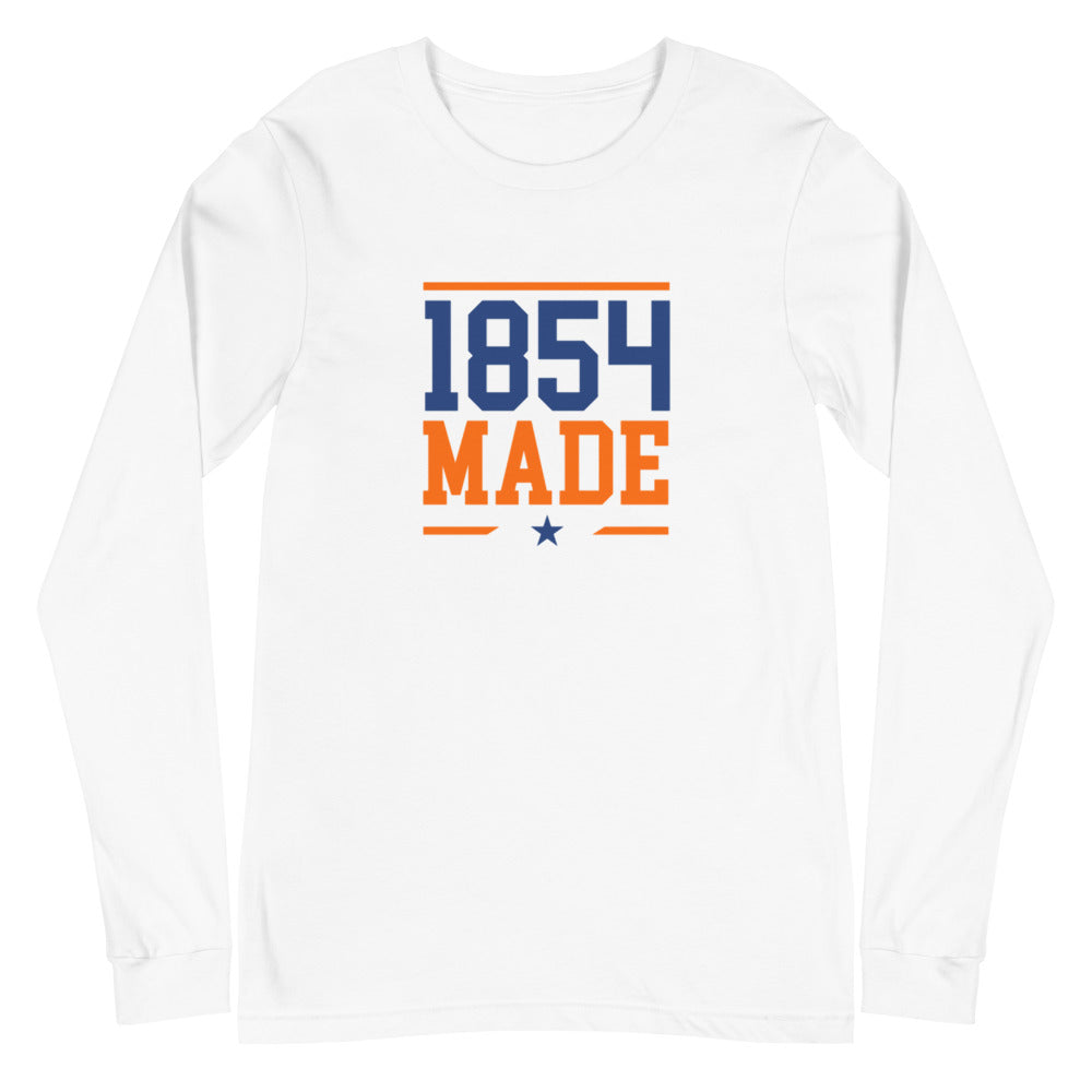 Lincoln University 1854 Made Unisex Long Sleeve Tee - We Wear Our HBCUs