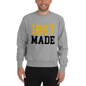 Alabama State University 1867 Made Unisex Champion Sweatshirt - We Wear Our HBCUs