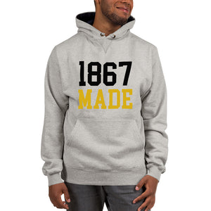 Alabama State University 1867 Made Unisex Champion Hoodie - We Wear Our HBCUs
