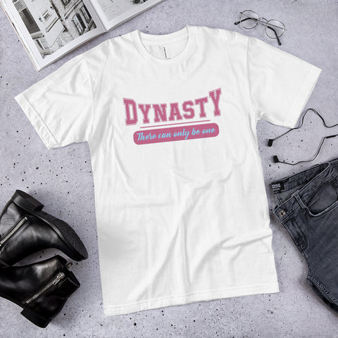 Hampton University Dynasty There Can Only Be One Unisex Jersey T-Shirt - We Wear Our HBCUs