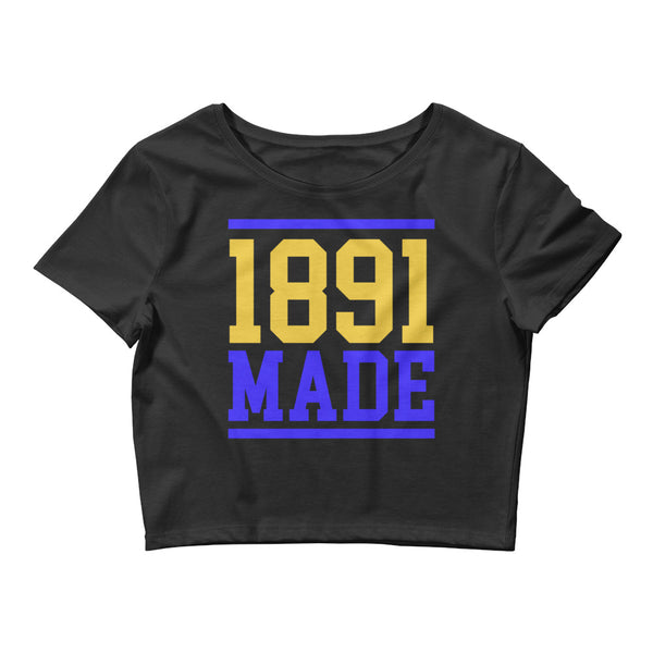 North Carolina A&T - 1891 Made  Women's Crop Tee - We Wear Our HBCUs