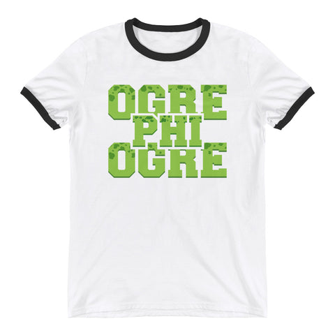 Hampton University | Ogre Phi Ogre Class Name | Unisex Ringer Tee Shirt - We Wear Our HBCUs