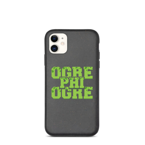Hampton University Ogre Phi Ogre Biodegradable phone case