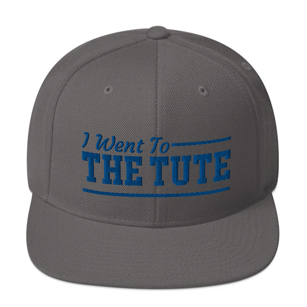 Hampton Institute I Went To The Tute Snapback Hat - We Wear Our HBCUs