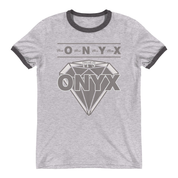 Hampton University | | The O The N The Y The X | ONYX Ringer T-Shirt - We Wear Our HBCUs