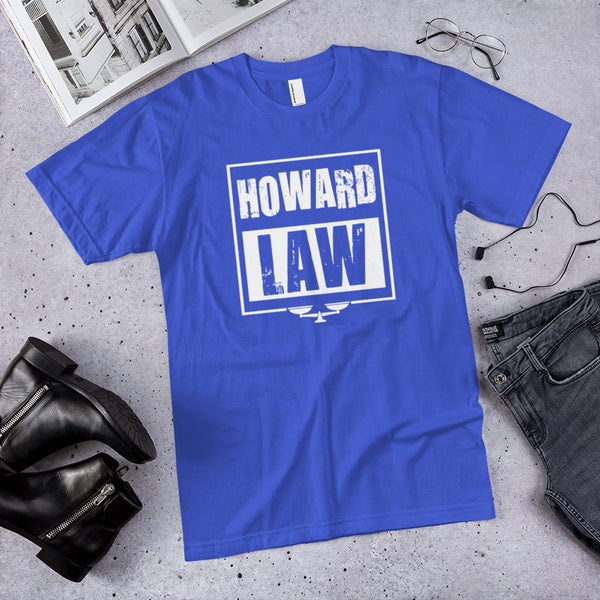 Howard Law  Howard University School of Law  Unisex T-Shirt - We Wear Our HBCUs