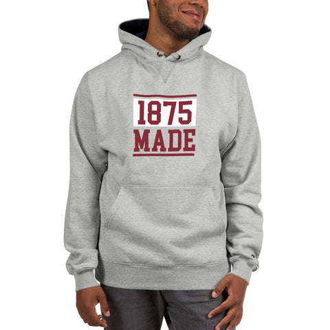 Alabama A&M 1875 Made Champion Hoodie - We Wear Our HBCUs
