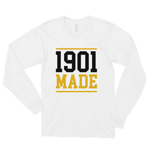 1901 MADE Grambling State University Unisex Long Sleeve Shirt - We Wear Our HBCUs