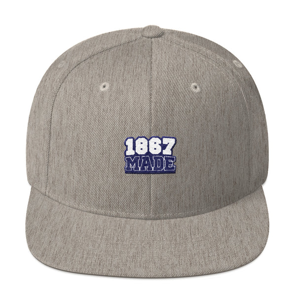 Howard University 1867 Made Snapback - We Wear Our HBCUs