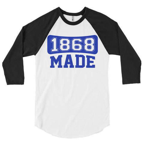 Hampton University 1868 Made Unisex Classic Baseball Shirt - We Wear Our HBCUs