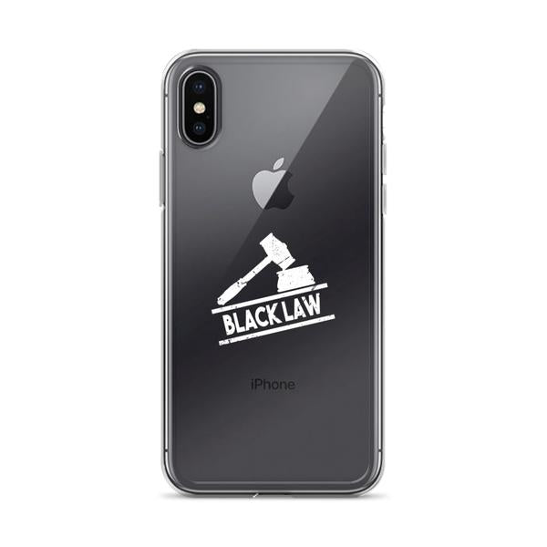 Black Law iPhone Case 6x - X/XS - We Wear Our HBCUs