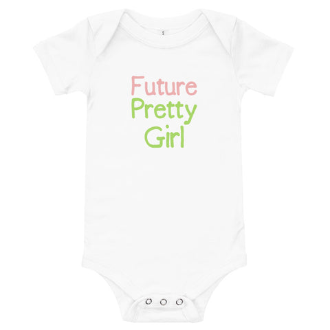 Future Pretty Girl Baby One Piece BodySuit - We Wear Our HBCUs