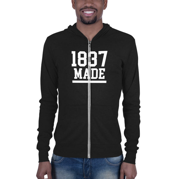 Cheyney University 1837 Made Men's zip hoodie - We Wear Our HBCUs