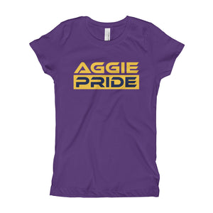 North Carolina A&T University | Aggie Pride | Girl's Princess T-Shirt - We Wear Our HBCUs