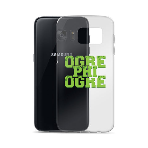 Hampton University  Ogre Phi Ogre HU Class Name Samsung Cell Phone Case - We Wear Our HBCUs