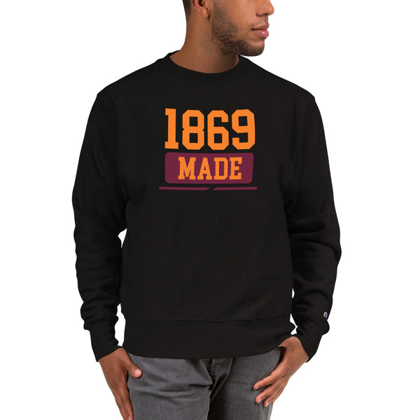 Claflin University 1869 Made Champion Sweatshirt - We Wear Our HBCUs