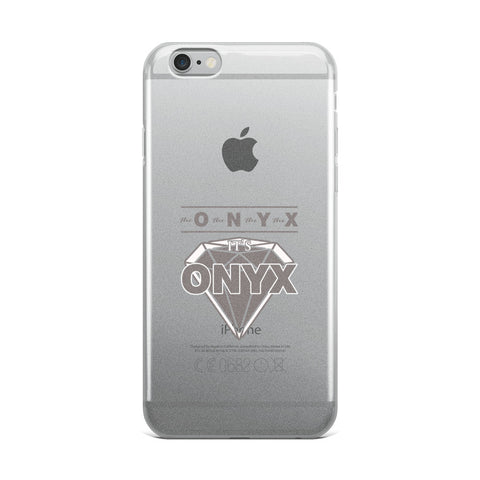 Hampton University | ONYX iPhone Case | The O The N The Y The X - We Wear Our HBCUs