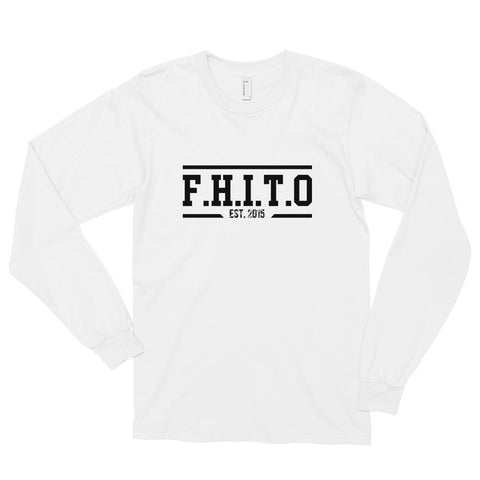 HUPS F.H.I.T.O. Long sleeve t-shirt - We Wear Our HBCUs