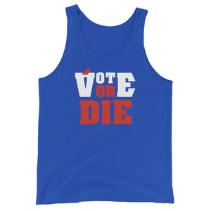 Vote Or Die Men's Tank Top - We Wear Our HBCUs