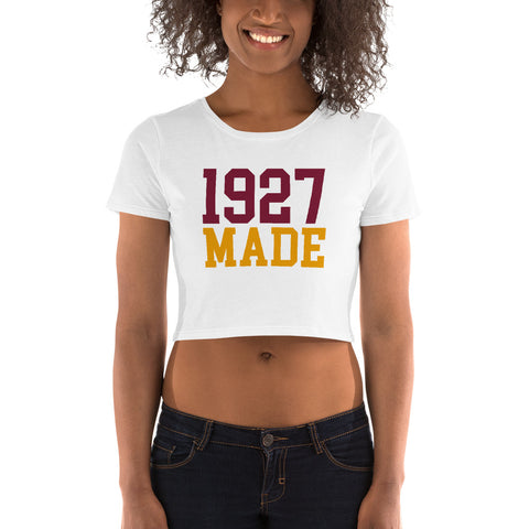 1927 Made Texas Southern Crop Tee - We Wear Our HBCUs