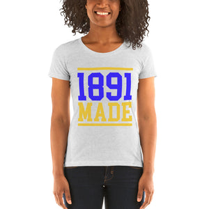 North Carolina A&T - 1891 Made Ladies' short sleeve t-shirt - We Wear Our HBCUs