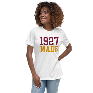 1927 Made Texas Southern Women's Relaxed T-Shirt - We Wear Our HBCUs
