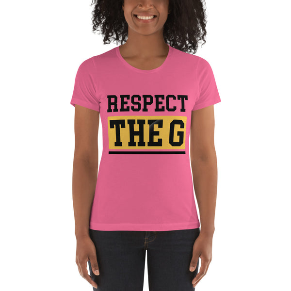 RESPECT THE G Grambling State University Women's t-shirt - We Wear Our HBCUs