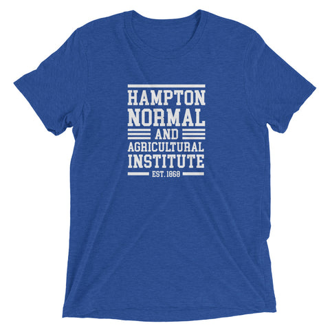 Hampton Normal and Agricultural Institute Soft Unisex Short sleeve T-shirt - We Wear Our HBCUs