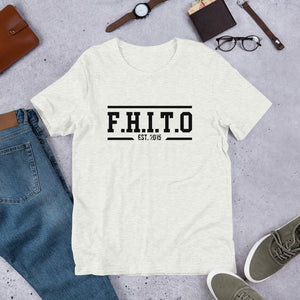 HUSP F.H.I.T.O Short-Sleeve Unisex T-Shirt - We Wear Our HBCUs