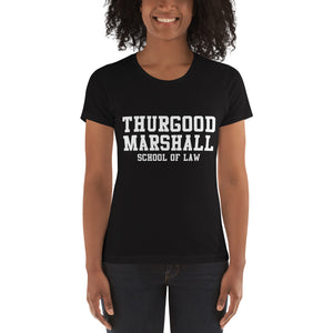 Thurgood Marshall School of Law Women's Boyfriend Tee - We Wear Our HBCUs