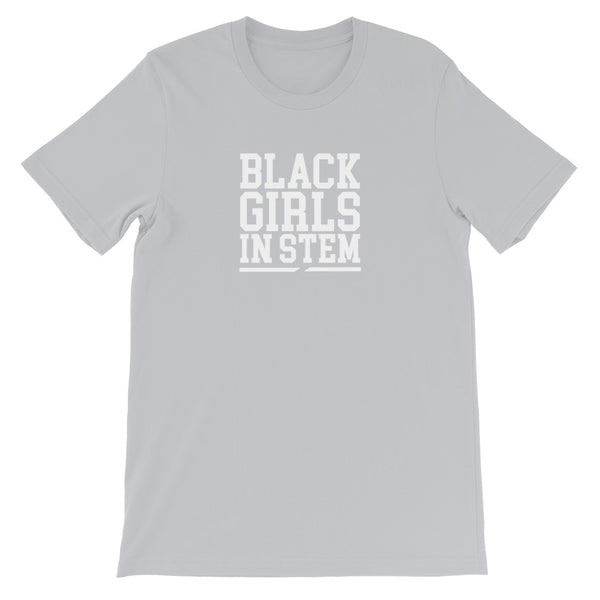Black Girls In Stem Unisex Basic T-Shirt - We Wear Our HBCUs