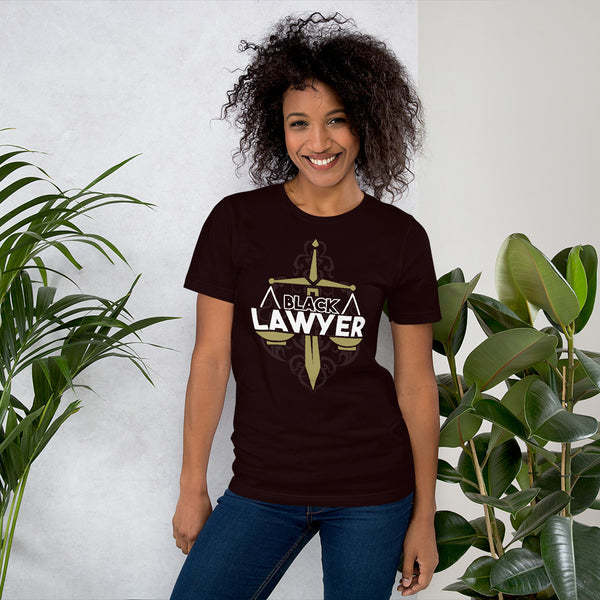 Black Lawyer Black Attorney Basic Short-Sleeve Unisex T-Shirt - We Wear Our HBCUs