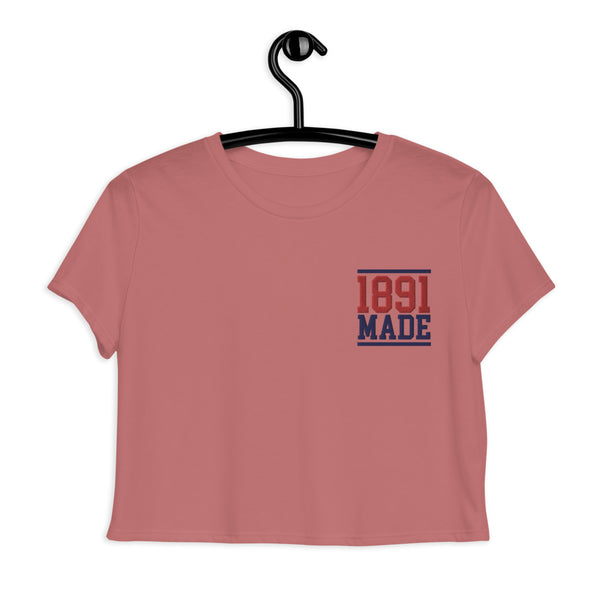 1891 Made Delaware State Crop Tee - We Wear Our HBCUs