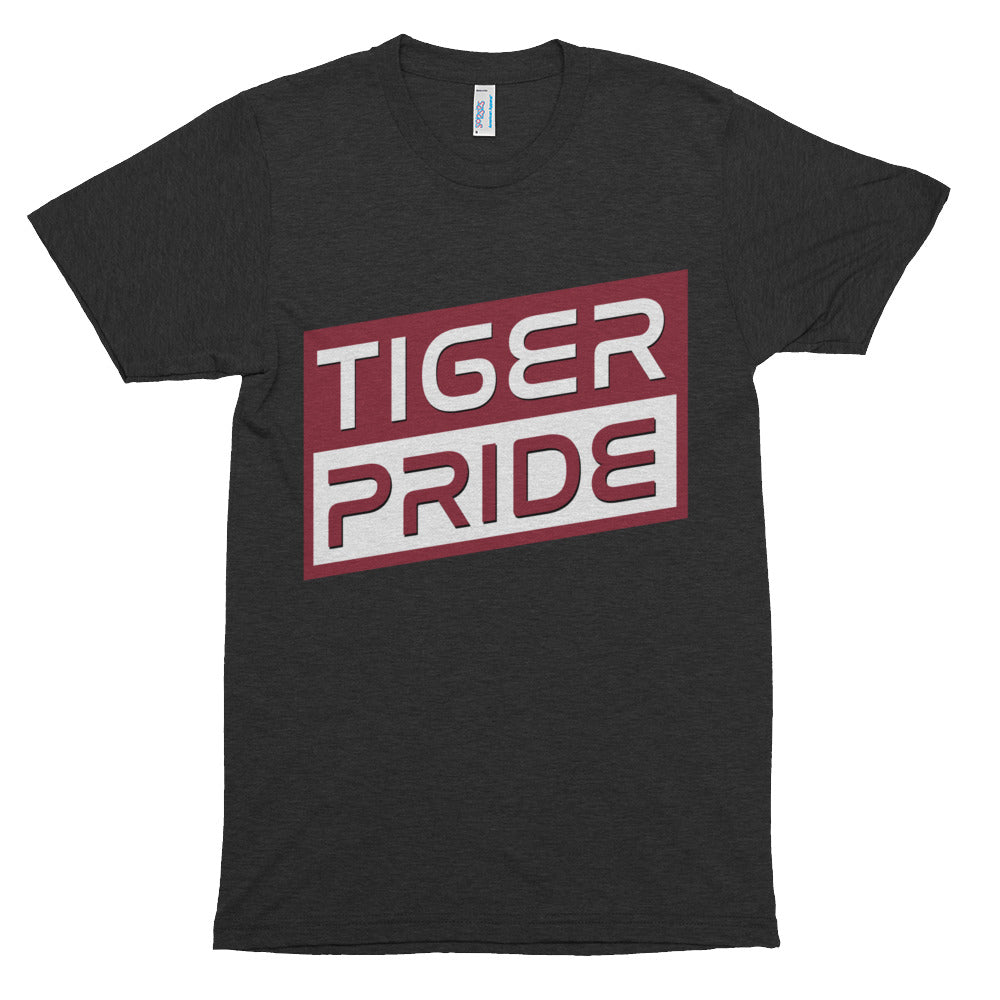 Tiger Pride Texas Southern Triblend Short Sleeve Soft Vintage T-shirt - We Wear Our HBCUs