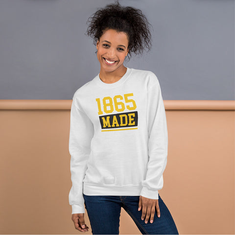 Bowie State University 1865 Made Champion Unisex Sweatshirt - We Wear Our HBCUs