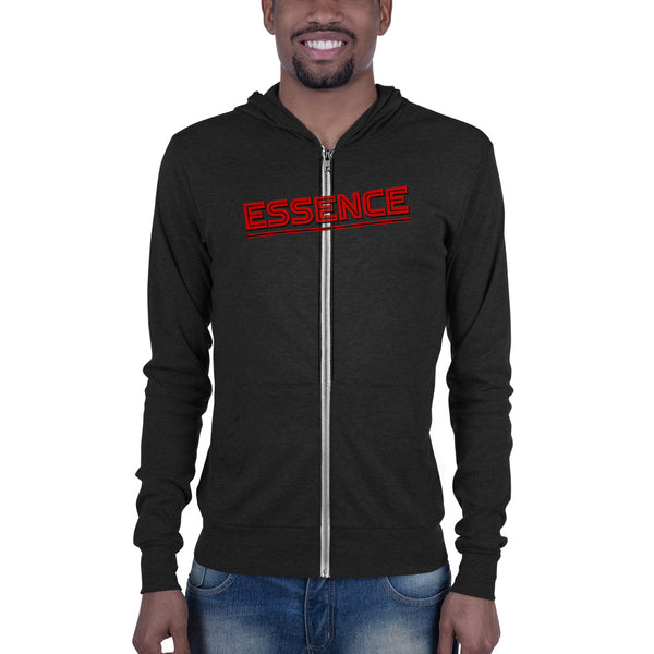 Hampton University Essence Unisex zip hoodie - men size up - We Wear Our HBCUs